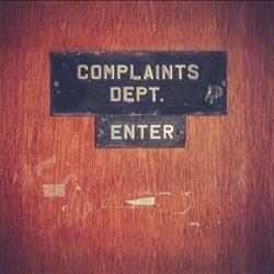 Lunch & Learn Complaints